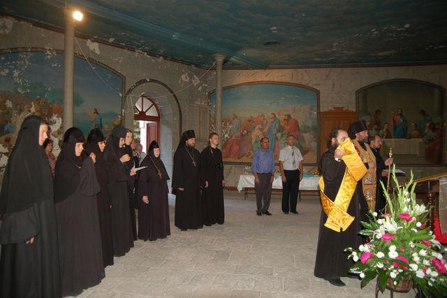 Молебен памяти преподобномученицы великой княгини Елизаветы Федоровны