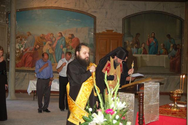 Молебен Елизавете Федоровне в народной трапезной  Сергиевского подворья ИППО