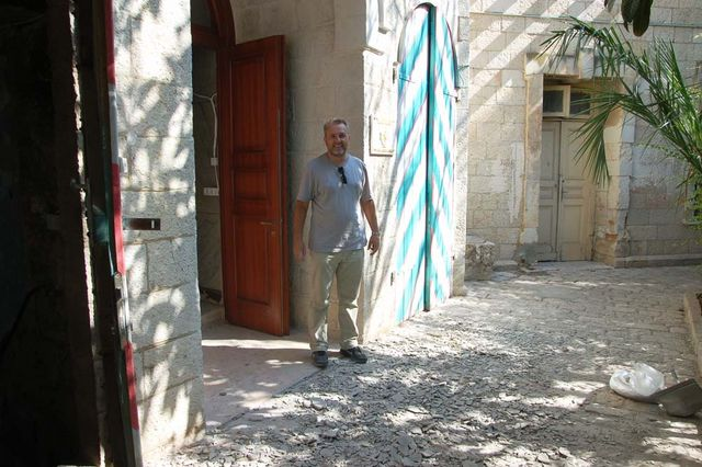 Председатель Иерусалимского отделения ИППО П.В.Платонов. © Иерусалимское отделение ИППО
