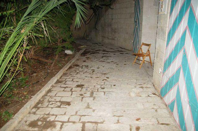 Каменная дорожка расчищена. © Иерусалимское отделение ИППО