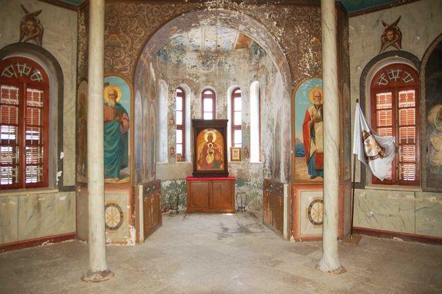 Державная икона Божией Матери перенесена на новое место. © Иерусалимское отделение ИППО