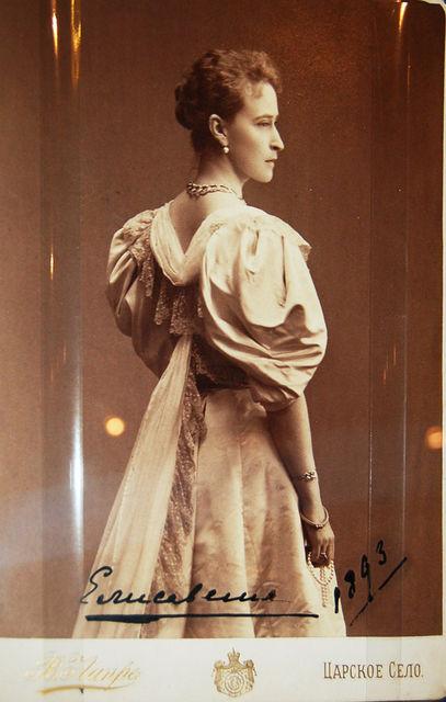 Фотография Великой княгини Елизаветы Федоровны 1893 года. © Иерусалимское отделение ИППО