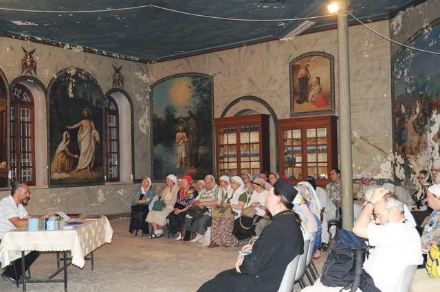 6 ноября 2009 г. Сергиевские Палестинские чтения на Сергиевском подворье ИППО. © Иерусалимское отделение ИППО