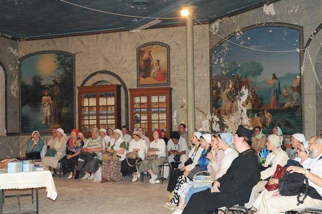 Сергиевские Палестинские чтения на Сергиевском подворье ИППО. © Иерусалимское отделение ИППО. 6 ноября 2009 г.