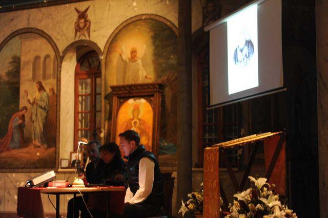 Выступление О.Ю. Робинова. © Иерусалимское отделение ИППО