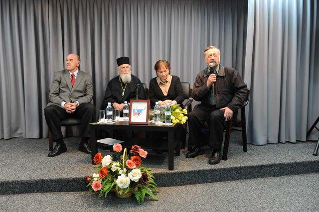 Выступает член ИППО профессор М.Н. Громов