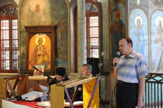 Выступление заместителя председателя Нижегородского отделения ИППО профессора Александра Алексеевича Корнилова