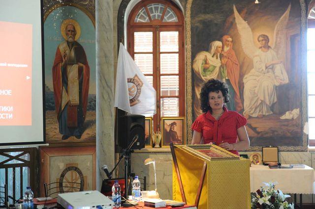 Выступление секретаря Нижегородского отделения ИППО Светланы Анатольевны Колобовой © Иерусалимское отделение ИППО