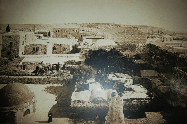 Вид на Александровское подворье с западной стороны. © Иерусалимское отделение ИППО