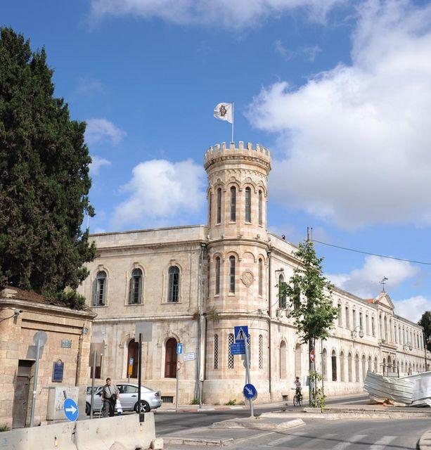 Сергиевское подворье Императорского Православного Палестинского Общества в Иерусалиме. Май 2010