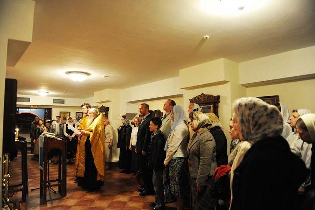 Молебен членам ИППО, прославленных святыми Русской Православной Церковью. © Иерусалимское отделение ИППО