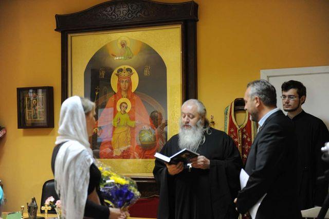 Вручение книги памяти Е.С. Боткина. © Иерусалимское отделение ИППО