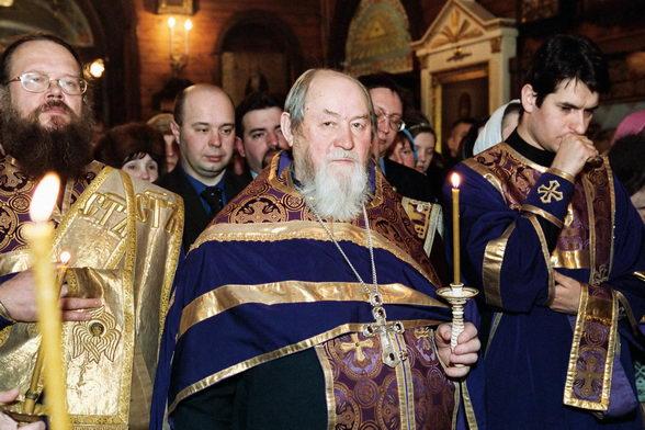 Протоиерей Василий Ермаков. Фото Александра Сетракова