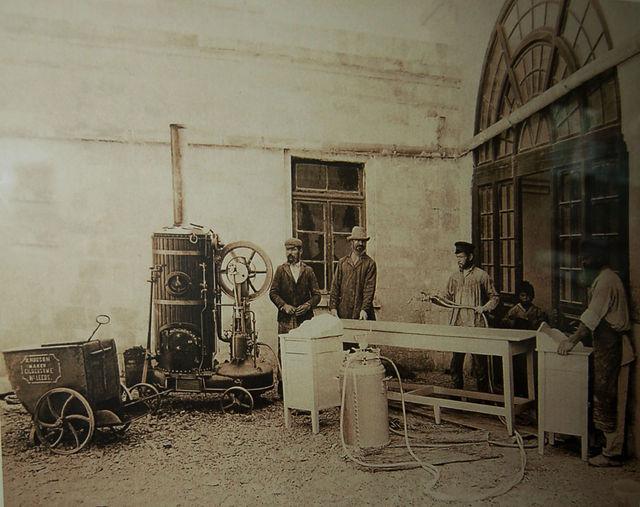 Мастерские на Сергиевском подворье ИППО. © Архив Иерусалимского отделения ИППО