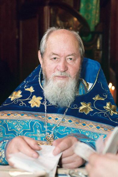 Протоиерей Василий Ермаков. Любимый народный батюшка. Фото © Александр Сетраков