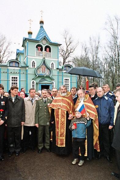 Протоиерей Василий Ермаков. День Победы 9 мая. Фото © Александр Сетраков