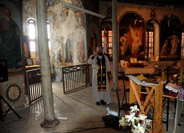 23 октября 2010 г. Священник Михаил Преображенский © Иерусалимское отделение ИППО
