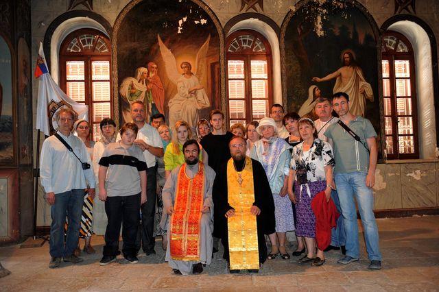 Общее фото на память. Фото © Иерусалимское отделение ИППО. 9 мая 2011 года