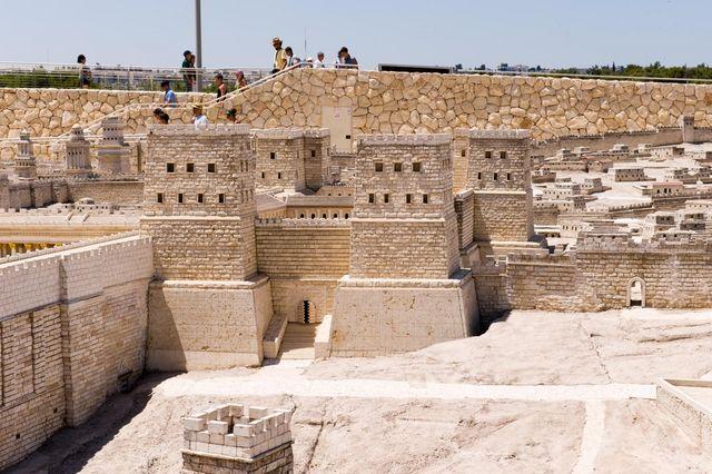 Крепость Антония. Иерусалим