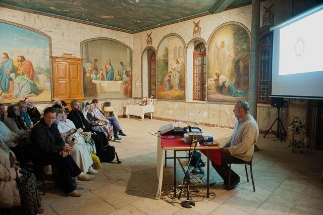 Сергиевские чтения в народной трапезной Сергиевского подворья © Иерусалимское отделение ИППО