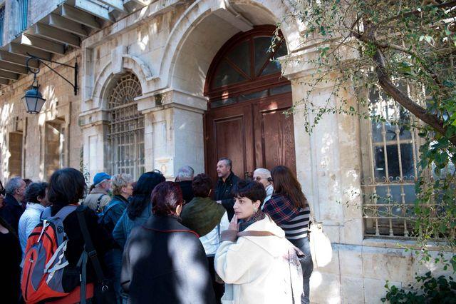 Экскурсия для израильтян на Сергиевском подворье © Иерусалимское отделение ИППО