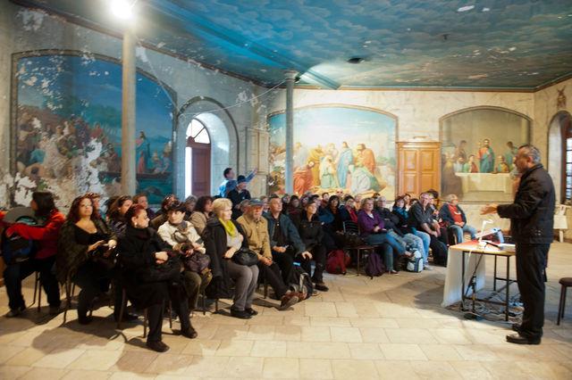 Сергиевские чтения для ивритоговорящих израильтян на Сергиевском подворье © Иерусалимское отделение ИППО