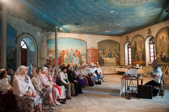 Сергиевские чтения в народной трапезной Сергиевского подворья 27 апреля 2012