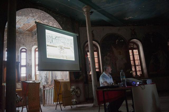 Сергиевские чтения для группы паломников из Санкт-Петербурга. 26 октября 2011 г.