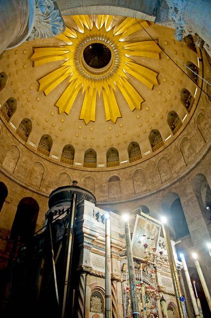 Купол ротонды на Гробом Господним