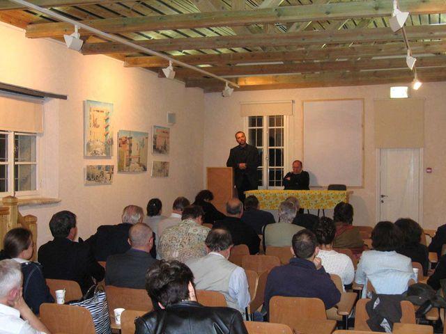 Заседание ИППО на Сергиевском подворье в Иерусалиме 5 ноября 2005 г. Учреждение Иерусалимского отделения ИППО