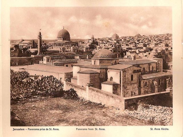 Panorama from St.Anna. View from the sea. Tour Guide in Israel, Jerusalem and the Holy Land Pavel Platonov