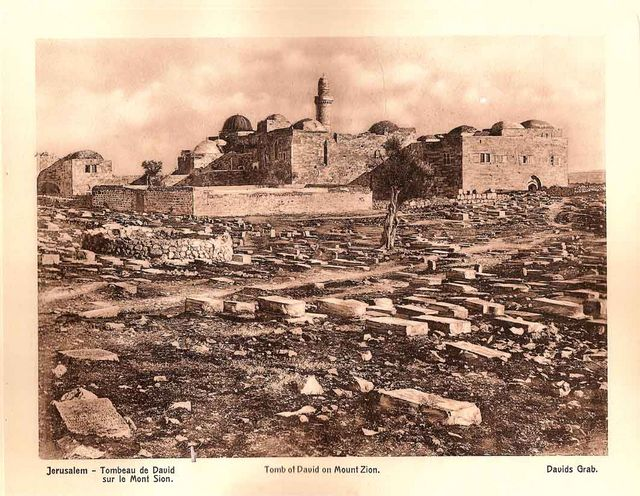 Tomb of David on Mount Zion. Tour Guide in Israel, Jerusalem and the Holy Land Pavel Platonov