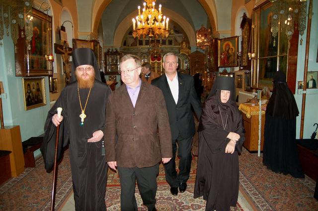 В храме Казанской иконы Божией Матери © Иерусалимское отделение ИППО