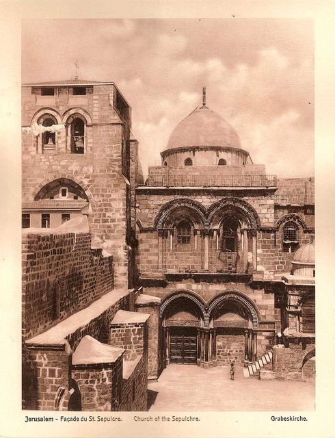 Church of the Sepulchre. Tour Guide in Israel, Jerusalem and the Holy Land Pavel Platonov