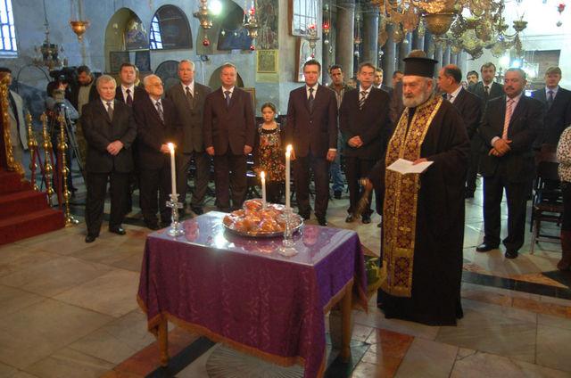 Молитва памяти почивщего Святейшего патриарха Алексия II. © Иерусалимское отделение ИППО