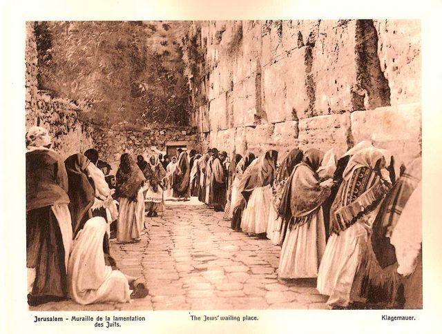 The Jews wailing Wall. Tour Guide in Israel, Jerusalem and the Holy Land Pavel Platonov