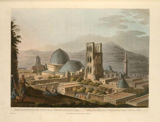 Виды Палестины. Сборник рисунков Святой Земли Луиджи Майера, изданный в Лондоне в 1804 году