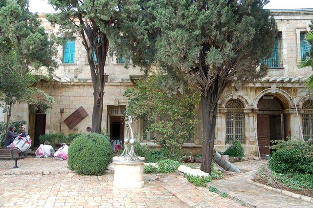 Общий вид восточного блока, где исторически размещалась штаб-квартира ИППО. © Иерусалимское отделение ИППО